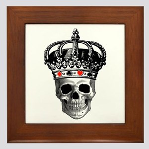 Gambling King Framed Tile
