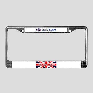 Fast eddy Sports/Triumph License Plate Frame
