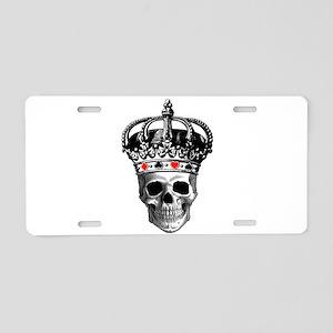 Gambling King Aluminum License Plate