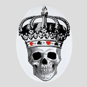 Gambling King Ornament (Oval)