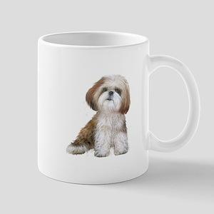 Shih Tzu (red-Wte) Mug
