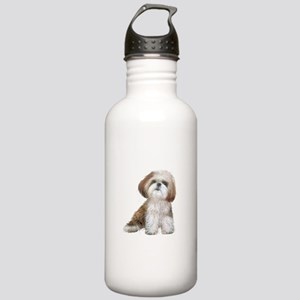 Shih Tzu (red-Wte) Stainless Water Bottle 1.0L