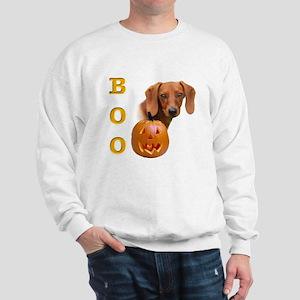Smooth Dachshund Boo Sweatshirt