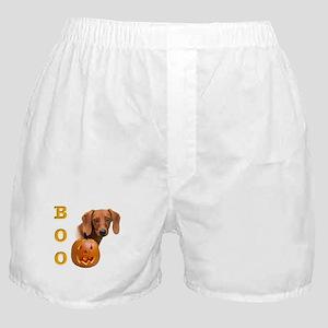Smooth Dachshund Boo Boxer Shorts