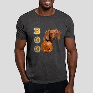 Smooth Dachshund Boo Dark T-Shirt