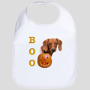 Smooth Dachshund Boo Bib