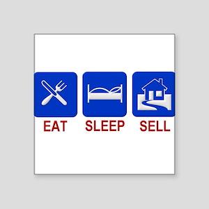 Eat Sleep Sell Sticker