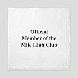 Mile High Club Queen Duvet