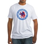 USS BROWNSON Fitted T-Shirt
