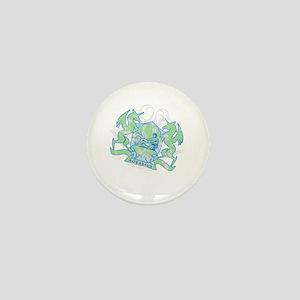 Aquarius Zodiac Designer Mini Button