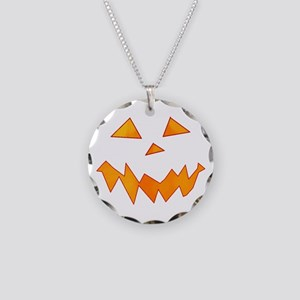 Jack O Laugh Necklace Circle Charm