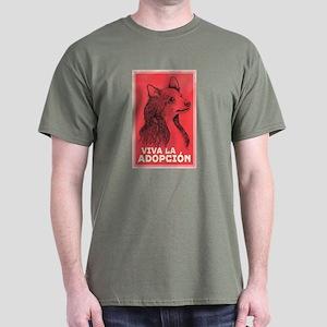 Viva La Adopcion Dark T-Shirt
