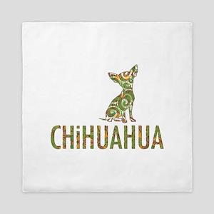 Camo Chihuahua - Queen Duvet