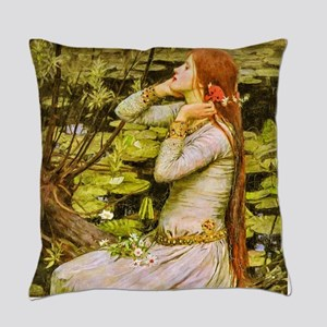 Waterhouse: Ophelia (1894) Master Pillow