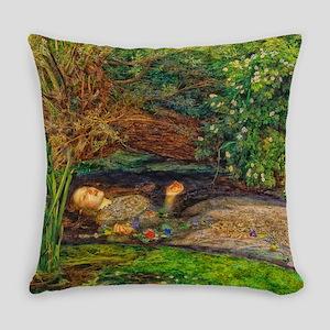 Millais: Drowning Ophelia Master Pillow