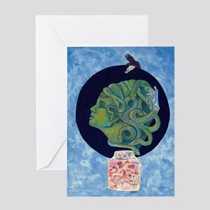 Asclepius' Path Greeting Cards