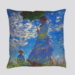 Monet - Woman with a Parasol Master Pillow