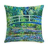 Monet Burlap Pillows