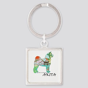 Akita National Treasure (light) Keychains