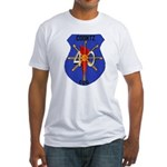 USS COONTZ Fitted T-Shirt