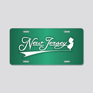 New Jersey State of Mine Aluminum License Plate