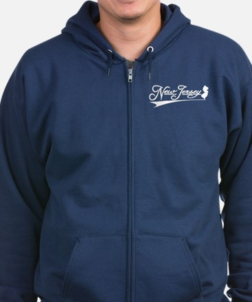 New Jersey State of Mine Zip Hoodie