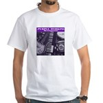 Purple Merkins Album White T-Shirt
