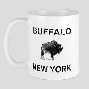 Dark Vintage Buffalo Mug