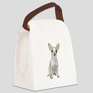 Chihuahua (W) Canvas Lunch Bag