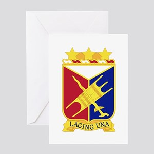 1 Filipino Regiment.psd Greeting Cards