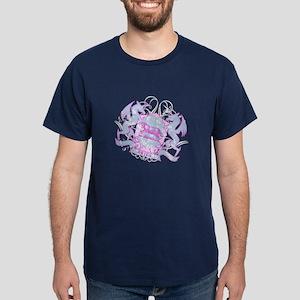 Aries Pink Zodiac Dark T-Shirt