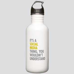 Its A Social Media Thi Stainless Water Bottle 1.0L