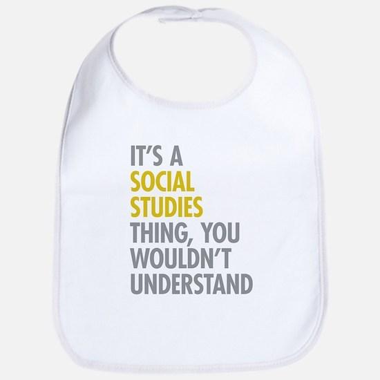 Social Studies Thing Bib