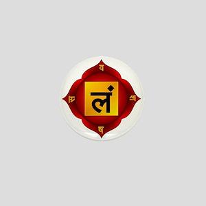 Muladhara Root Chakra Mini Button