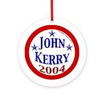 John Kerry 2004 Christmas Tree Ornament
