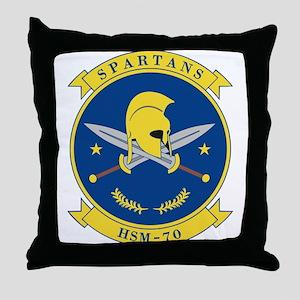 hsm70_spartans Throw Pillow