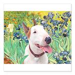 Bull Terrier (B) - Irise Square Car Magnet 3