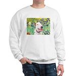 Bull Terrier (B) - Irises Sweatshirt