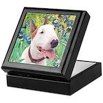 Bull Terrier (B) - Irises Keepsake Box