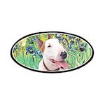 Bull Terrier (B) - Irises Patches