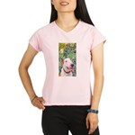 Bull Terrier (B) - Irises Performance Dry T-Shirt