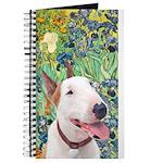 Bull Terrier (b) - Irises Journal