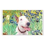 Bull Terrier (B) - Irise Sticker (Rectangle 50 pk)