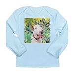 Bull Terrier (B) - Iris Long Sleeve Infant T-Shirt