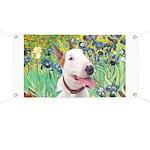Bull Terrier (B) - Irises Banner