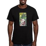 Bull Terrier (B) - Iri Men's Fitted T-Shirt (dark)
