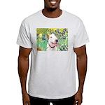 Bull Terrier (B) - Irises Light T-Shirt