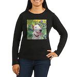 Bull Terrier (B) Women's Long Sleeve Dark T-Shirt