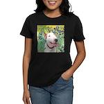 Bull Terrier (B) - Irises Women's Dark T-Shirt