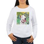 Bull Terrier (B) - Iri Women's Long Sleeve T-Shirt